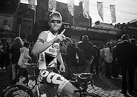 77th Flèche Wallonne 2013..Tosh Van der Sande (BEL)