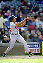 CIRCA 1997: Andruw Jones #14 of the Atlanta Braves at bat during a game from his 1997 season with the Atlanta Braves. Andruw Jones played 17 seasons, with 5 different teams and was a 5-time All-Star.  (Photo by: 1997 SportPics)  *** Local Caption *** Andruw Jones