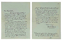 Candid letter by J.R.R Tolkien describing what hobbits should look like.