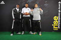 SAN ANTONIO, TX - DECEMBER 31, 2012: The 2013 Army All-American Bowl Player's Lounge. (Photo by Jeff Huehn)