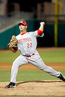 Derrick Lowery - AZL Reds - 2010 Arizona League.  Photo by:  Bill Mitchell/Four Seam Images..