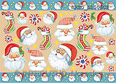 Alfredo, CHRISTMAS SANTA, SNOWMAN, decoupage, paintings(BRTOD1505CP,#X#,#DP#) Weihnachten, Navidad, illustrations, pinturas