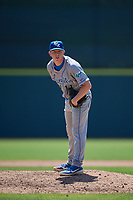 Lexington Legends relief pitcher Tyler Gray (11) during a South Atlantic League game against the Augusta GreenJackets on April 30, 2019 at SRP Park in Augusta, Georgia.  Augusta defeated Lexington 5-1.  (Mike Janes/Four Seam Images)