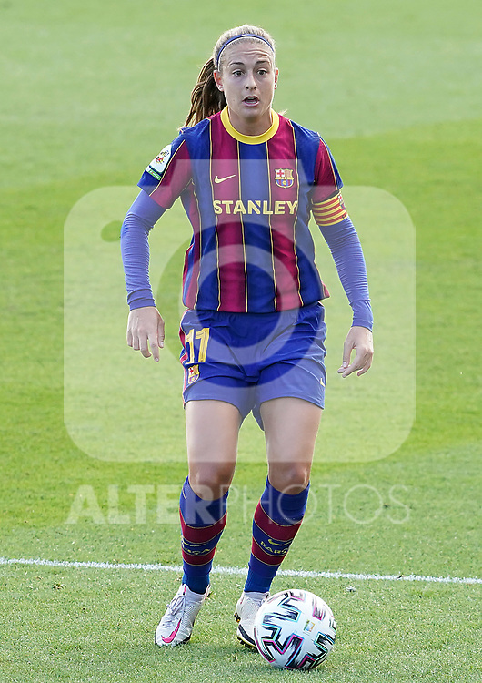 First official match and first classic in the history of women's Real Madrid.<br /> FC Barcelona's Alexia Putellas during Spanish Female League match. October 4,2020. (ALTERPHOTOS/Acero)