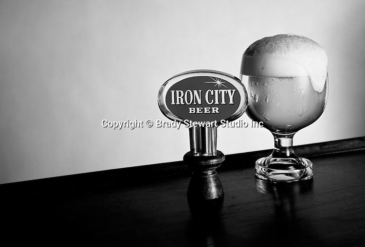 Client: Pittsburgh Brewing Company<br /> Ad Agency: Pitt Studios<br /> Product: Iron City Beer<br /> Contact: Mr. Scanlon<br /> Location: Brady Stewart Studio 211 Empire Building in Pittsburgh<br /> <br /> Studio photography of Pittsburgh Brewing's Iron City Beer Tap and glass of beer.  Pittsburgh Brewing has been a local favorite for over 148 years - 1861