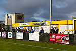 A rare burst of sunshine. Hucknall Town v Heanor Town, 17th October 2020, at the Watnall Road Ground, East Midlands Counties League. Photo by Paul Thompson.