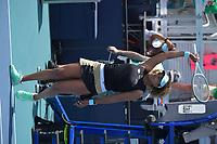 MIAMI GARDENS, FLORIDA - MARCH 26: Naomi Osaka of Japan defeats Ajla Tomljanovi? of Australia on Day 5 of the 2021 Miami Open on March 26, 2021 in Miami Gardens, Florida<br /> People:  Naomi Osaka<br /> CAP/MPI122<br /> ©MPI122/Capital Pictures