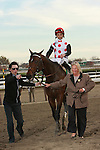 Favorite To Honor and Serve with Jose Lezcano aboard win the Grade I Cigar Mile, for 3-year olds & up, 1 mile at Aqueduct Racetrack.  Trainer Bill Mott.  Owner Live Oak Plantation
