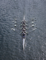 Four Woman Crew Races, Team Rowing, Windermere Cup 2017, Mountlake Cut, Lake Washington, Seattle, WA, USA.