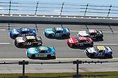 NASCAR Xfinity Series<br /> Sparks Energy 300<br /> Talladega Superspeedway, Talladega, AL USA<br /> Saturday 6 May 2017<br /> Daniel Suarez, Peak Antifreeze & Coolant Toyota Camry, Scott Lagasse Jr, JGL Racing Toyota Camry, Daniel Hemric, Blue Gate Bank Chevrolet Camaro<br /> World Copyright: Lesley Ann Miller<br /> LAT Images<br /> ref: Digital Image lam_170506DEGA49595