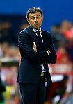 FC Barcelona's coach Luis Enrique Martinez during Spanish Kings Cup Final match. May 22,2016. (ALTERPHOTOS/Acero)