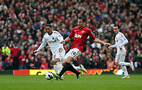 Pictured: (L-R) Jonathan de Guzman, Robin van Persie.<br />