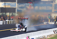 Sep 15, 2019; Mohnton, PA, USA; NHRA top fuel driver Billy Torrence during the Reading Nationals at Maple Grove Raceway. Mandatory Credit: Mark J. Rebilas-USA TODAY Sports