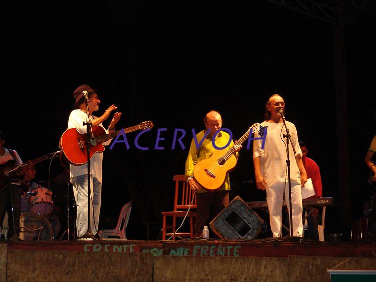 Violonista e compositor Sebastião Tapajós durante concerto no Horto Florestal de Rio Branco, Acre, Brasil.<br /> Foto Altino Machado