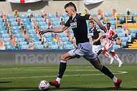 Millwall's Scott Malone in action during Millwall vs Stoke City, Sky Bet EFL Championship Football at The Den on 12th September 2020
