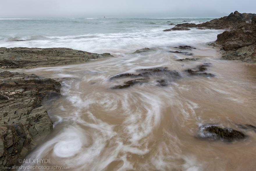Kedhlow Treth beach, Cornwall, UK. May.