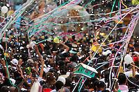 Círio de Nazaré, considerada a maior procissão religiosa do Brasil. Milhares de promesseiros e devotos acompanham a procisão ultrapassando 1 milhão de pessoas.<br /> Belém, Pará, Brasil<br /> Foto Ney Marcondes / Acervo H