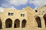 Israel, Sharon region, Ruins of Migdal Afek (Migdal Tzedek) at Mirabel National Park
