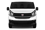 Car photography straight front view of a 2017 Fiat Talento Pack 4 Door Cargo Van Front View