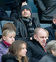 :: RANGER'S NEW SIGNING DAVID HEALY WATCHES FROM THE STAND ::