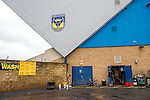 Oxford United 1 Accrington Stanley 2, 20/02/2016. Kassam Stadium, League Two. Oxford's home ground is the Kassam Stadium in Oxford and has a capacity of 12,500. United moved to the stadium in 2001 after leaving the Manor Ground, their home for 76 years. A car wash outside the Kassam Stadium. Photo by Simon Gill.