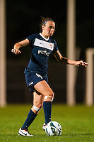Sky Blue FC defender Caitlin Foord (4). Sky Blue FC and the Chicago Red Stars played to a 1-1 tie during a National Women's Soccer League (NWSL) match at Yurcak Field in Piscataway, NJ, on May 8, 2013.