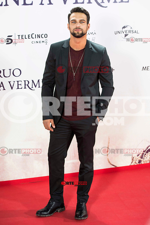 """Jesus Castro during the premiere of the spanish film """"Un Monstruo Viene a Verme"""" of J.A. Bayona at Teatro Real in Madrid. September 26, 2016. (ALTERPHOTOS/Borja B.Hojas) NORTEPHOTO.COM"""