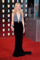 Nicole Kidman<br /> at the 2017 BAFTA Film Awards held at The Royal Albert Hall, London.<br /> <br /> <br /> ©Ash Knotek  D3225  12/02/2017