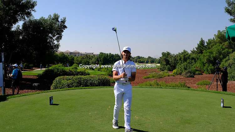 Tommy FLEETWOOD (ENG) during round two of the 2016 DP World Tour Championships played over the Earth Course at Jumeirah Golf Estates, Dubai, UAE: Picture Stuart Adams, www.golftourimages.com: 11/18/16