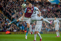 BIRMINGHAM, ENGLAND - MARCH 21:   during the Barclays Premier League match between Aston Villa and Swansea City at Villa Park on March 21, 2015 in Birmingham, England. (Photo by Athena Pictures/Getty Images)