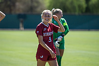 STANFORD, CA - SEPTEMBER 12: Astrid Wheeler before a game between Loyola Marymount University and Stanford University at Cagan Stadium on September 12, 2021 in Stanford, California.