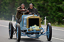 04/06/05 - CIRCUIT HISTORIQUE - PUY DE DOME - FRANCE - Commemoration officielle du Centenaire de la Course GORDON BENNETT. Edouard MICHELIN et Francois MICHELIN au volant de la Richard BRASIER type course de 1907 - Photo Jerome CHABANNE
