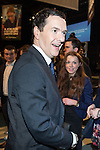 © Joel Goodman - 07973 332324 . 28/03/2015 . Manchester , UK . George Osborne leaves the Conservative Party Spring Forum at the Old Granada Studios , Quay Street , Manchester . Also pictured Georgia Twist-Pactor (with red hair) . Photo credit : Joel Goodman