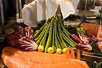 Asparagus, Salmon, Lemon, Porcao Restaurant, Downtown Miami, Florida