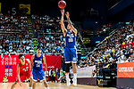 Lau Tsz Lai #88 of Eastern Long Lions shoots the ball against the SCAA during the Hong Kong Basketball League playoff game between SCAA and Eastern Long Lions at Queen Elizabeth Stadium on July 27, 2018 in Hong Kong. Photo by Yu Chun Christopher Wong / Power Sport Images