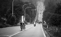 the breakaway group<br /> <br /> 2018 Binche - Chimay - Binche / Memorial Frank Vandenbroucke (1.1 Europe Tour)<br /> 1 Day Race: Binche to Binche (197km)