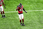 Atlanta Falcons middle linebacker Deion Jones (45) in action during Super Bowl LI at the NRG Stadium in Houston, Texas.