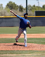 Julio Guante - Chicago Cubs 2019 extended spring training (Bill Mitchell)