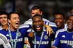 SO KON PO, HONG KONG - JULY 30: Players of Chelsea celebrates after winning the Asia Trophy final match against Aston Villa at the Hong Kong Stadium on July 30, 2011 in So Kon Po, Hong Kong.  Photo by Victor Fraile / The Power of Sport Images