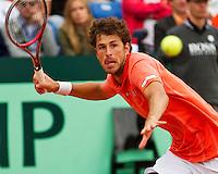 16-09-12, Netherlands, Amsterdam, Tennis, Daviscup Netherlands-Suisse,  Robin Haase