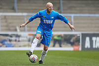 Ex Wycombe Wanderers player Keith Ryan during the Celebrity football match in aid of the charity's 'Keep Moving Forward' programme which benefits people with mental health issues put together by Wycombe Wanderers Sports & Education Trust and Sellebrity Soccer Football Match at Adams Park, High Wycombe, England on 7 April 2019. Photo by David Horn.
