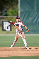 Austin Green (13) during the WWBA World Championship at the Roger Dean Complex on October 10, 2019 in Jupiter, Florida.  Austin Green attends New Diana High School in Diana, TX and is committed to Weatherford College.  (Mike Janes/Four Seam Images)