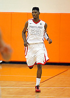 April 9, 2011 - Hampton, VA. USA;  Anthony January Jr. participates in the 2011 Elite Youth Basketball League at the Boo Williams Sports Complex. Photo/Andrew Shurtleff