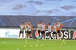 FC Shakhtar Donetsk's players during training session. October 16,2017.(ALTERPHOTOS/Acero)