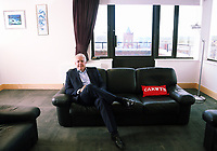 Mirst Minister for Wales Carwyn Jones in his office at the Ty Hywel building in Cardiff Bay, Wales, UK. Wednesday 13 September 2017