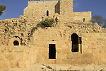 Jerusalem mountains, Nabi Samuel on Mount Shmuel, the southern wall of the Crusader fortress