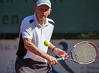 Etten-Leur, The Netherlands, August 23, 2016,  TC Etten, NVK, Theo de Waal (NED) 80+ <br /> Photo: Tennisimages/Henk Koster