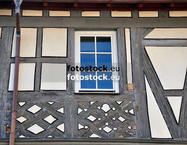 Fachwerk am Rathaus (16./17. Jh.) von Appenheim