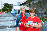Sam Ryan and his mum Denise Buckley were delighted to get  his vaccine in Killarney on Tuesday