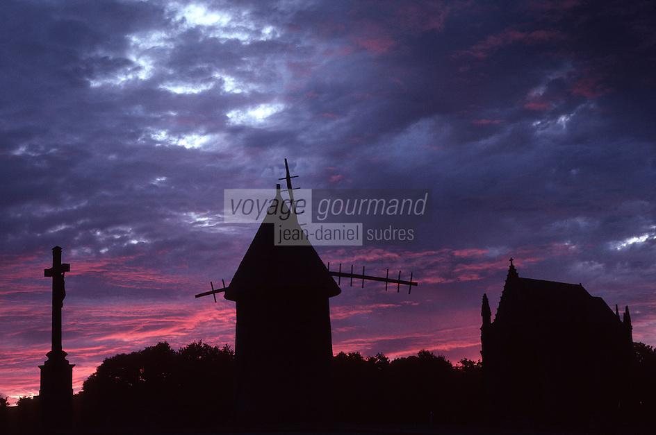Europe/France/Pays de la Loire/85/Vendée/Mont des Allouettes: A l'aube